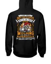 I May Seem Quiet And Reserver - While I'm Welding Hooded Sweatshirt thumbnail