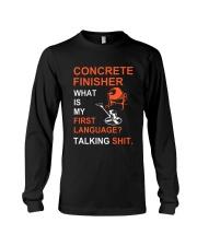 Concrete Finisher First Language Talking Shit Long Sleeve Tee thumbnail