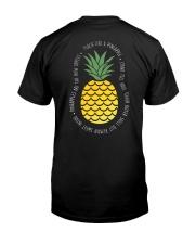 Teach Like A Pineapple Teacher Classic T-Shirt back