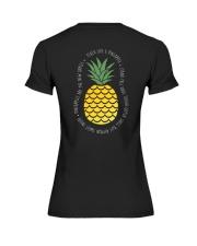 Teach Like A Pineapple Teacher Premium Fit Ladies Tee thumbnail