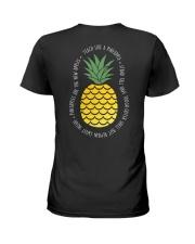 Teach Like A Pineapple Teacher Ladies T-Shirt thumbnail