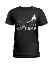 Just Camp Ladies T-Shirt thumbnail
