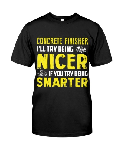 Concrete Finisher Nicer If You Try Being Smarter