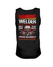 Warning Welder With A Strong Personalit Unisex Tank thumbnail