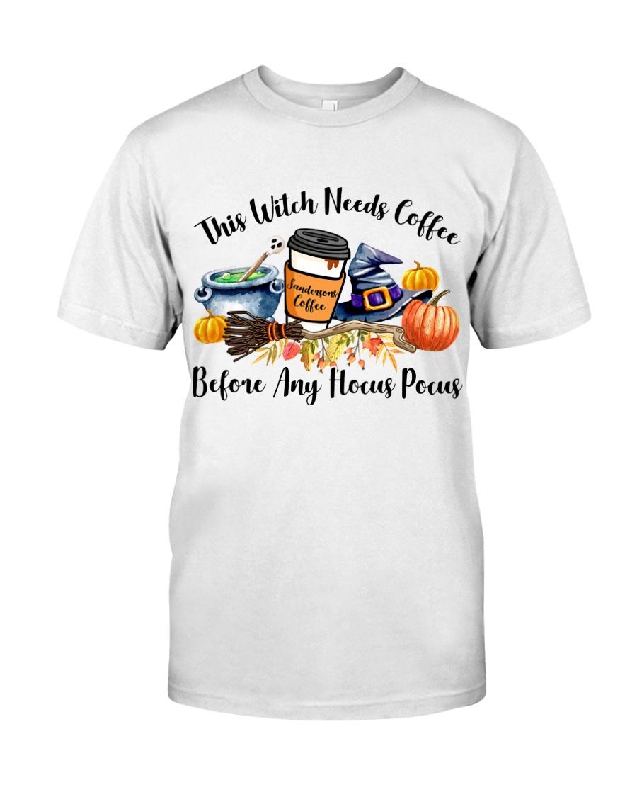 Hocus Pocus Teacher Classic T-Shirt