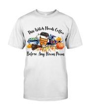 Hocus Pocus Teacher Classic T-Shirt front