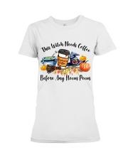 Hocus Pocus Teacher Premium Fit Ladies Tee thumbnail