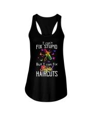 I Can't Fix Stupid But I Can Fix Stupiad Haircuts Ladies Flowy Tank thumbnail