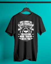 Don't Annoy The Electrician Classic T-Shirt lifestyle-mens-crewneck-front-3