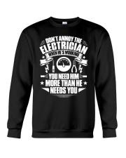Don't Annoy The Electrician Crewneck Sweatshirt thumbnail