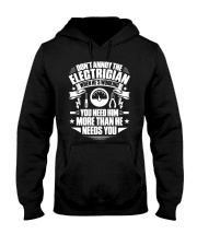 Don't Annoy The Electrician Hooded Sweatshirt thumbnail