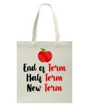 End Of Term Tote Bag thumbnail
