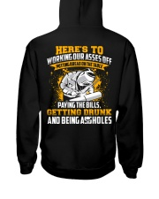Here's to working our asses off Putting bread Hooded Sweatshirt thumbnail