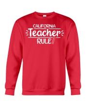I Teacher California Crewneck Sweatshirt thumbnail