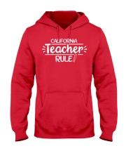 I Teacher California Hooded Sweatshirt thumbnail