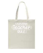 I Teacher California Tote Bag thumbnail