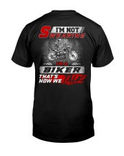 Yelling I'm A Biker That's How We Talk Classic T-Shirt back