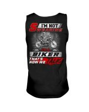 Yelling I'm A Biker That's How We Talk Unisex Tank thumbnail