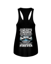 The Title Concrete Finisher Canot Be Inherited Ladies Flowy Tank thumbnail