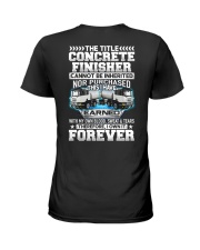 The Title Concrete Finisher Canot Be Inherited Ladies T-Shirt thumbnail