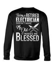 Being A Retired Electrician Crewneck Sweatshirt thumbnail