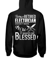 Being A Retired Electrician Hooded Sweatshirt thumbnail