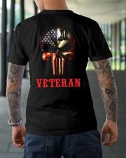 Veteran Skull Classic T-Shirt lifestyle-mens-crewneck-back-3