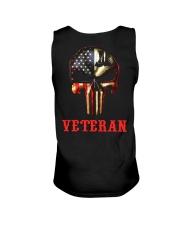Veteran Skull Unisex Tank thumbnail