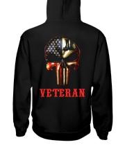 Veteran Skull Hooded Sweatshirt thumbnail