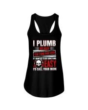 I Plumb Because I Don't Mind Hard Work Ladies Flowy Tank thumbnail