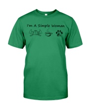 I'm A Simple Woman Firefighter Premium Fit Mens Tee thumbnail