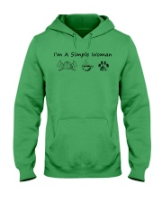 I'm A Simple Woman Firefighter Hooded Sweatshirt thumbnail