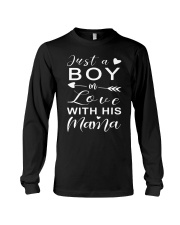 Just A Boy In Love With His Mama Long Sleeve Tee thumbnail
