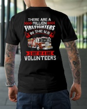 There Are A Milion Firefighters In The US Classic T-Shirt lifestyle-mens-crewneck-back-3