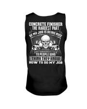 Concrete Finisher The The Hardest Part Of My Job Unisex Tank thumbnail