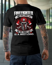 Firefighter I Don't Have A Bucket List Classic T-Shirt lifestyle-mens-crewneck-back-3