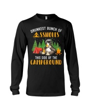 Drunkest Bunch Campground Long Sleeve Tee thumbnail