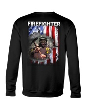 Firefighter Flag Crewneck Sweatshirt thumbnail