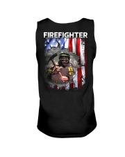 Firefighter Flag Unisex Tank thumbnail