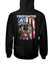 Firefighter Flag Hooded Sweatshirt thumbnail