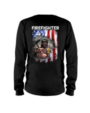 Firefighter Flag Long Sleeve Tee thumbnail