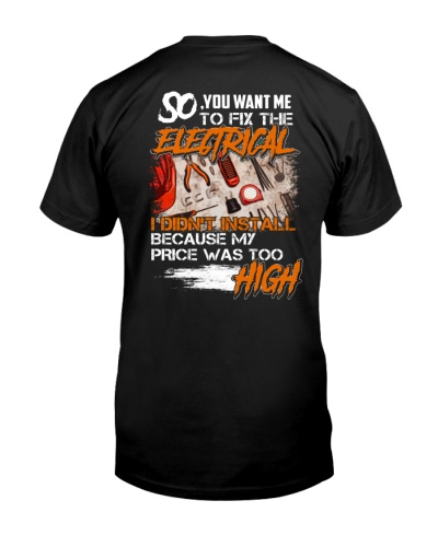 Electrician My Price Was Too High