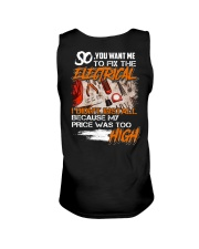 Electrician My Price Was Too High Unisex Tank thumbnail