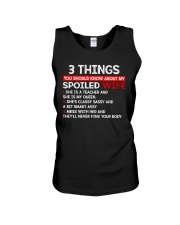 3 Thing You Shold Know About My Spoiled Wife Unisex Tank thumbnail