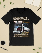 No Sick Leave Little Vacation Trucker Classic T-Shirt lifestyle-mens-crewneck-front-19