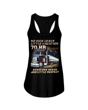 No Sick Leave Little Vacation Trucker Ladies Flowy Tank thumbnail