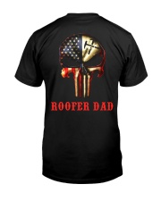 Roofer Dad Skull Classic T-Shirt thumbnail