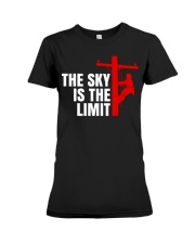 The Sky Is The Limit Premium Fit Ladies Tee thumbnail