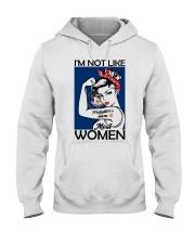 I'm Not Like Firefighter's Mom Most Women Utah Hooded Sweatshirt thumbnail