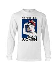 I'm Not Like Firefighter's Mom Most Women Utah Long Sleeve Tee thumbnail